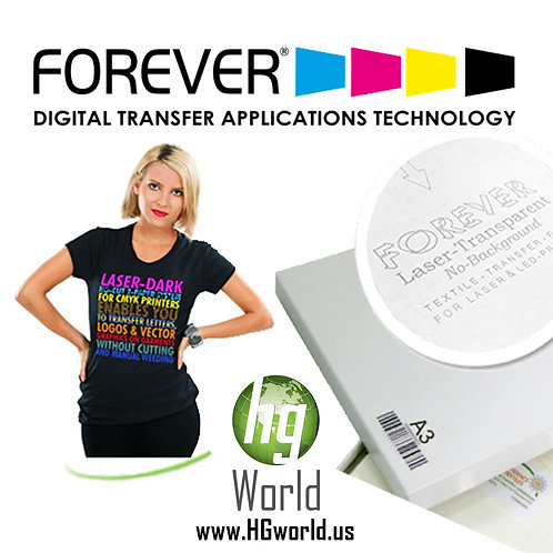 Forever  Laser Papel Transfer 100 Hojas min Paquete Muestras