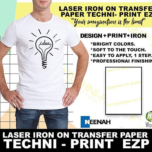 TECHNI-PRINT EZP Laser Printer Light Fabric