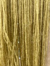 Dandelion dyed yarn