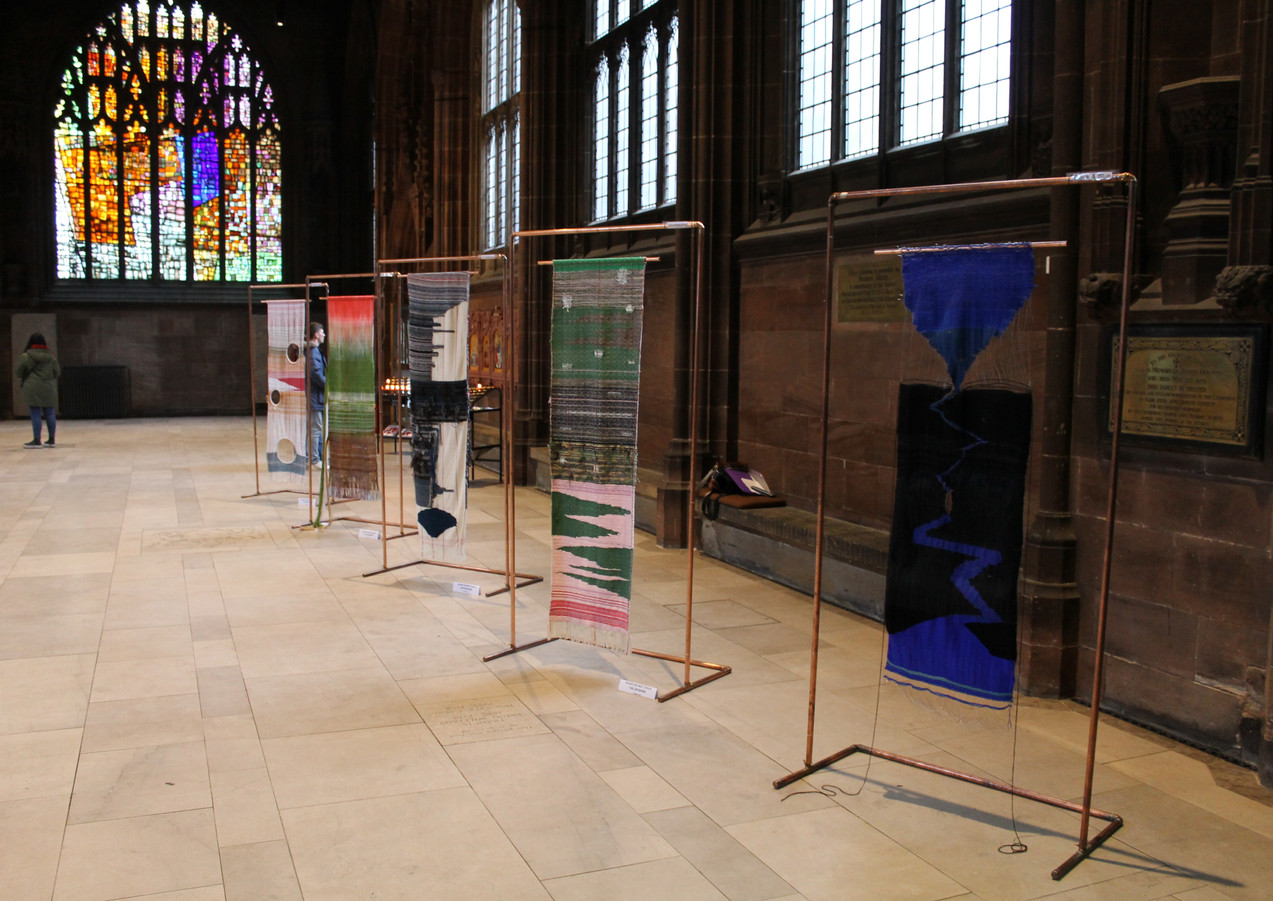 Exhibition in Manchester Cathedral