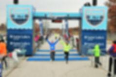 Longview Half Marathon Finish