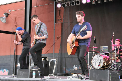 Rock the Stockyard concert 2015