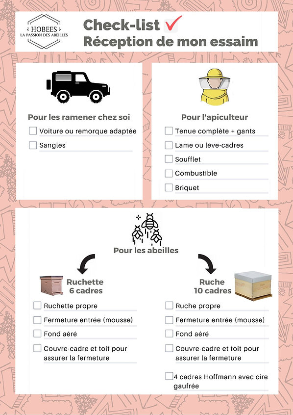 Pink Illustrated Pattern Packing List (1