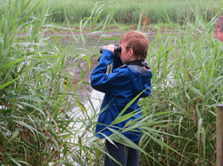 Ben birdwatching