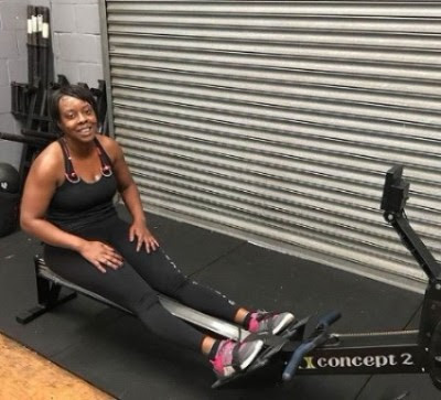 Sophina Gapare completed a 100,000m rowing challenge to raise money for us!