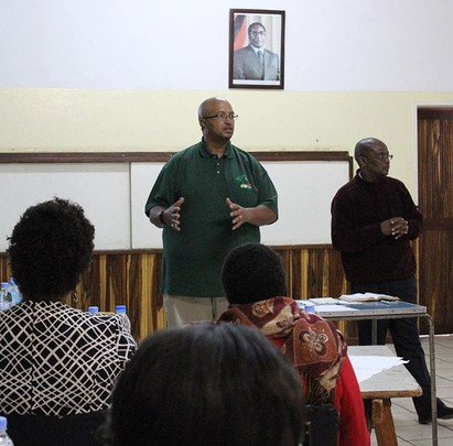 Leadership training in Zimbabwe
