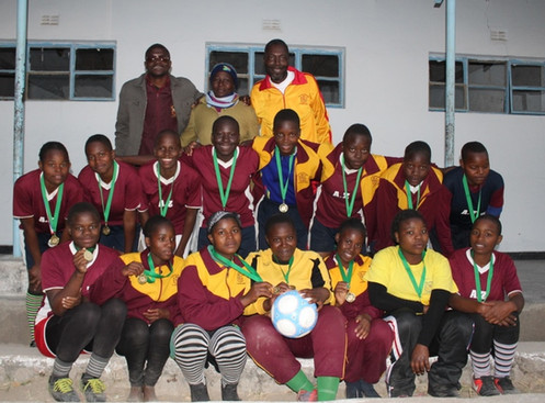 Football Tournament - Girls Team Winners