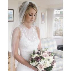 Instagram - Another shot of todays bride #hair#makeup#wedding#bride#veil#beautif