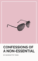 White and Pink Bordered Eyewear Fashion