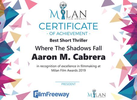 Best Short Thriller - Milan Film Awards
