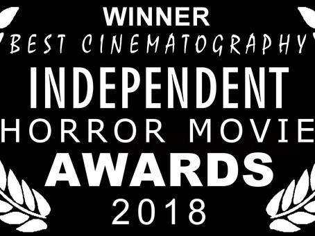 6 Nominations 3 Awards - Independent Horror Movie Awards