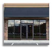 Storefront window tinting to Block Heat and UV