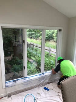 New Hope window tinting sunroom
