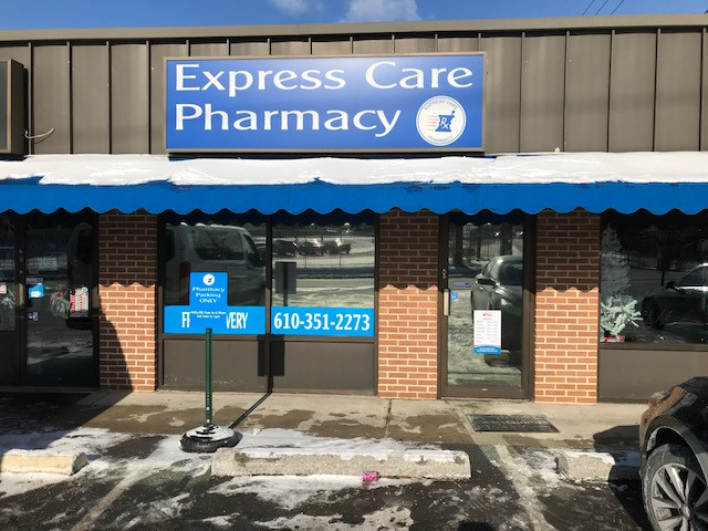 Express Care pharmacy Allentown, PA Tinting