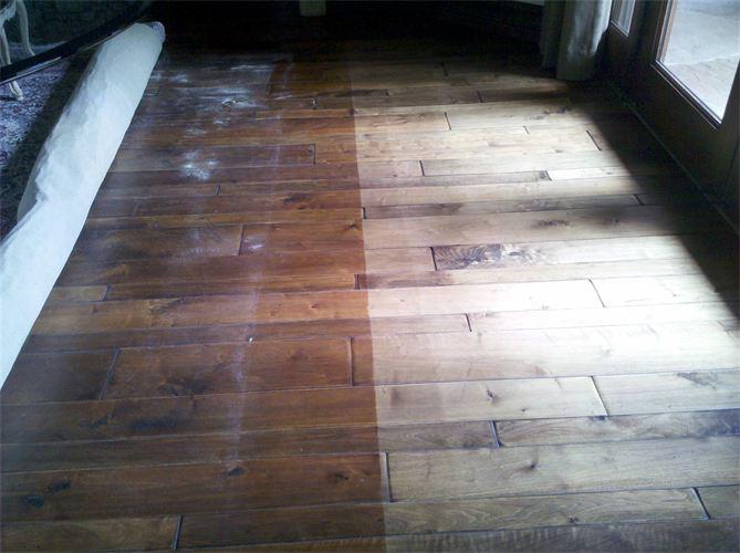 wood floor damage