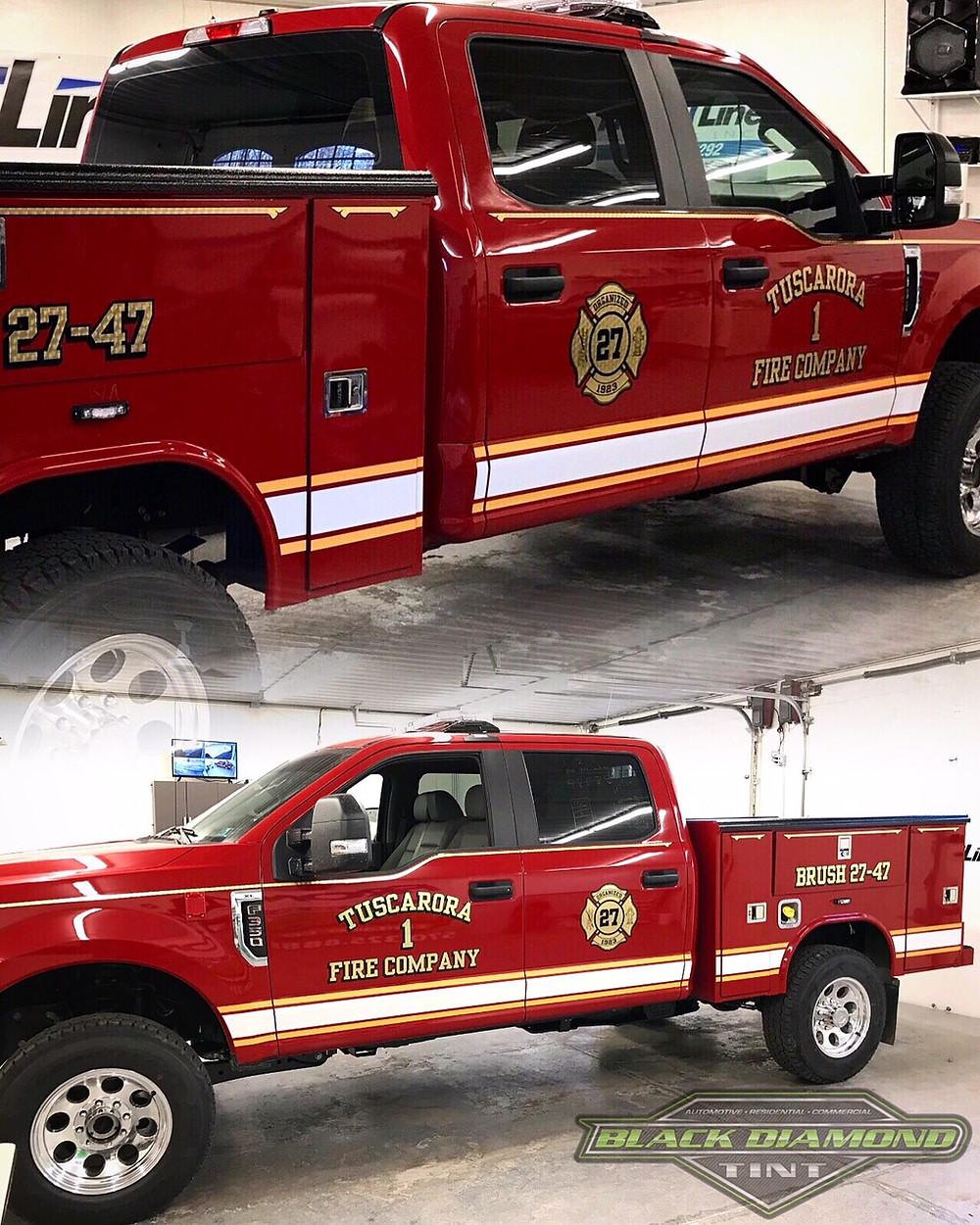 Tuscarora Fire Department Brush Truck