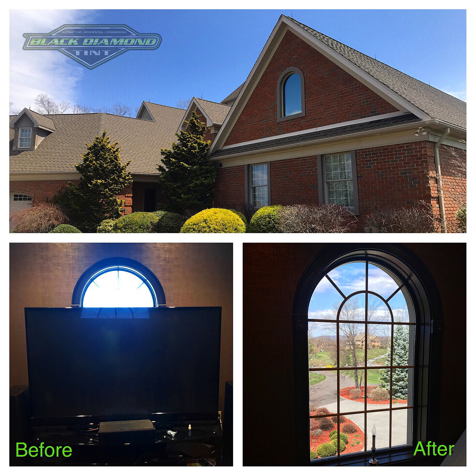 Slatington home window tinting