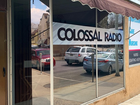 Colossal Radio Studio Window Tinting