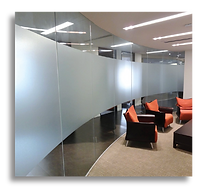 Frosted and Decorative films by Black Diamond Tint