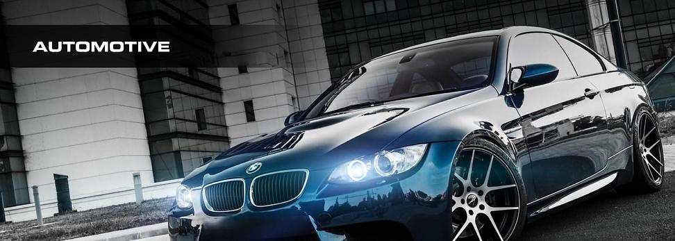 Blue BMW with window tint by Black Diamond window tinting in PA