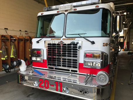 Black Diamond Tint installs ceramic window tint to help firefighters stay cool