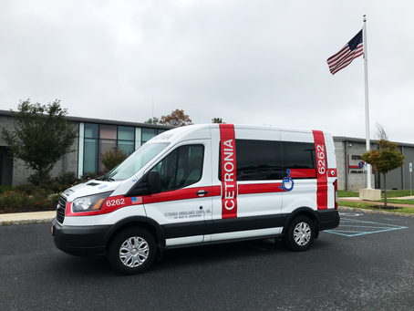 Cetronia Ambulance Corps gets Privacy Tint