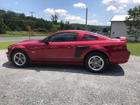 Mustang GT from Tamaqua gets Window Tint
