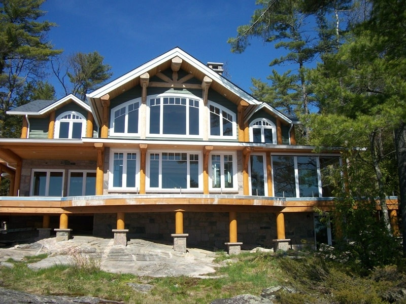 Pocono's Lake House Window Tinting