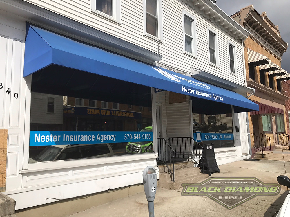 Nationwide insurance office tinted windows Minersville