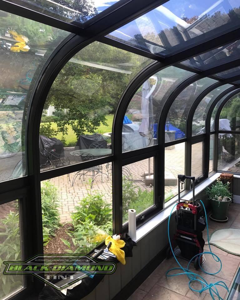 Sunroom window film