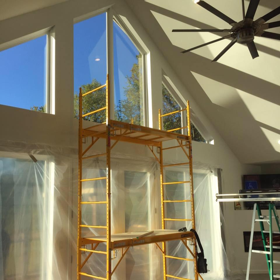 Lake House window tinting