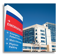 Hospital with emergency room tinting lehigh valley health network