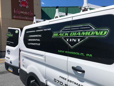 Mr. Crab Seafood House in Allentown Gets Tinted By Black Diamond Tint