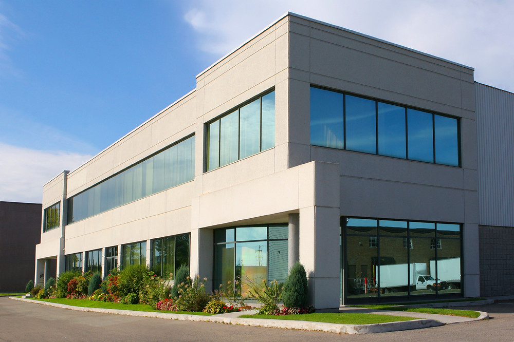 Large commerical window film installations