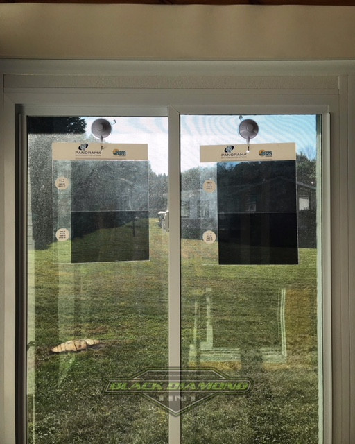 Panorama Slate window films display
