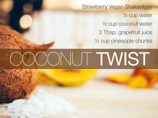 No desserts on a diet? Shakeology to the rescue