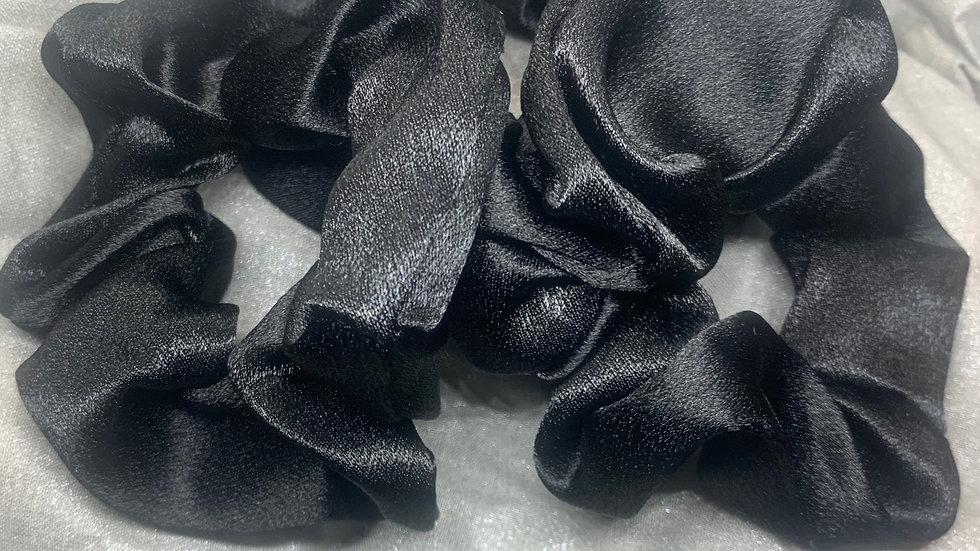 Maxi Scrunchie (3-pack): Black