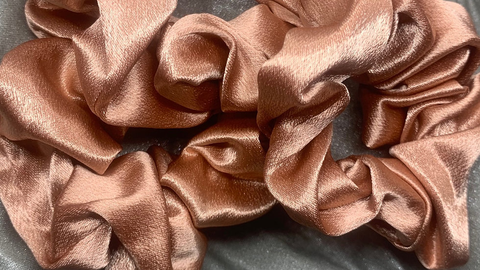 Maxi Scrunchie (3-pack): Cocoa