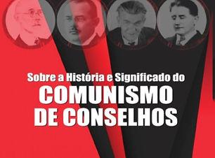 Capa A origem e o significado do Comunis