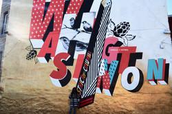 dc mural, stella artois