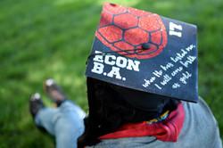 economics graduation cap