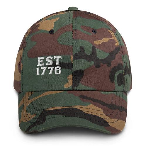 1776 | Camo Dad hat
