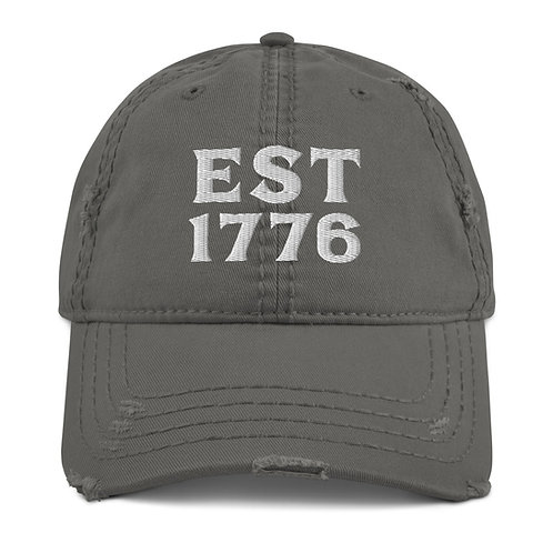 1776 | Distressed Dad Hat