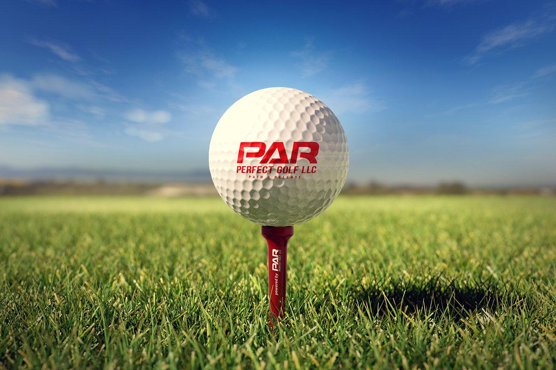 PAR_Golf Ball with Golf Tee 2 (view 3).j