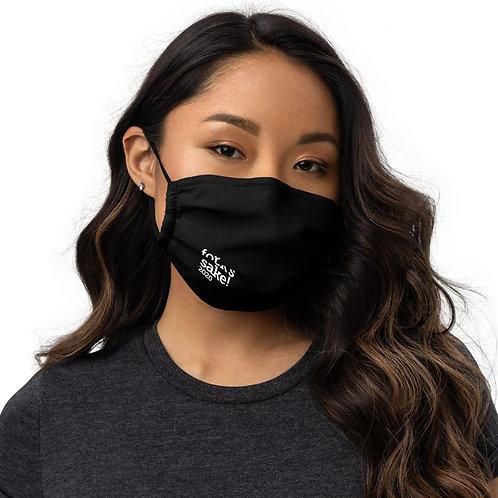 FOR F*CK'S SAKE   Black Premium face mask