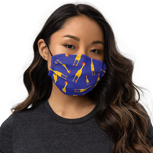 RUBBER CHICKEN | Premium face mask