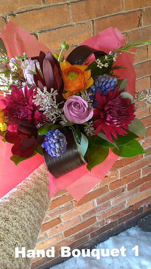 Hand Tied Bouquets from