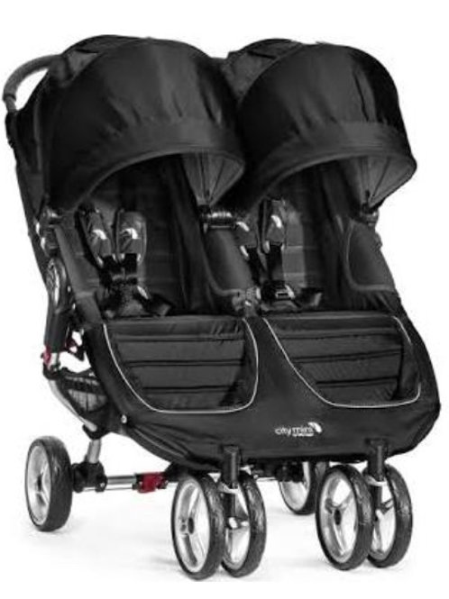 City Mini Double Stroller (max weight is 50 lbs per seat)