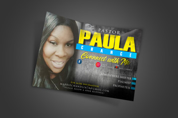 Paula Chance (Promo Flyer)