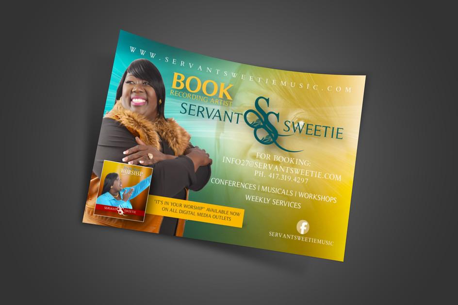 Servant Sweetie (Promo Flyer)